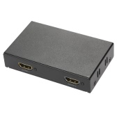 Mini Portable 1x2 1 in 2 out HDMI Splitter Adapter Support 4k x 2K 3D Full HD 1080P for HDTV DVD PS3 Projector Laptop