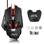 A-JAZZ GTX E-sport Gaming Mouse 4000DPI USB Wired Mechanical Mouse