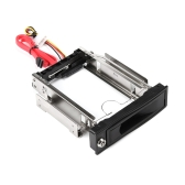 "Tool-Free 3.0Gb/s S-ATA II HDD-ROM Internal 3.5"" SATA HDD Frame Mobile Rack Tray Enclosure Docking Station Hot Swap Drive Bay Trayless Design Internal HDD Case for 3.5in Hard Drive"
