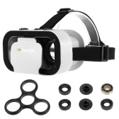 VR SHINECON Virtual Reality Headset 3D Glasses + DIY Tri Fidget Spinner