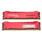 Kingston HyperX Savage 8GB Kit(2*4GB) Desktop Memory 2400MHz DDR3 Non-ECC CL11 SDRAM XMP 240-Pin HX324C11SRK2/8