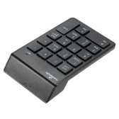 2.4G USB Numeric Keypad Wireless Number Pad 18 Keys Mini Digital Keyboard for iMac/MacBook/MacBook Air/Pro Laptop PC Notebook Desktop