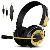 Ovann X10 Professional Esport Gaming Stereo Bass Headset Headphone Earphone Over Ear 3.5mm Wired with Microphone for PC Computer Laptop