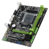 MAXSUN MS-A86FX M.3 Computer Gaming Motherboard Desktop Mainboard Systemboard for AMD A85 FM2/FM2+ Socket SATA 6Gb/s USB 3.0 DDR3 mATX