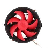 PCCOOLER 3pin Mini CPU Cooler Heatsink Fan Cooling with 80mm Fan for Desktop Computer