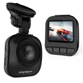 "CACAGOO 2"" TFT LCD Super HD 1296P 16MP Car DVR Night Vision Black"