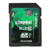 Genuine Original Kingston Class 10 8GB SDHC Memory Card 45M/s for Cellphone Camera HD Video