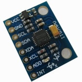 GY-521 MPU6050 3-Axis Acceleration Gyroscope 6DOF Module - Blue for Arduino DIY