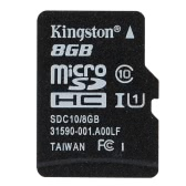 Kingston Class 10 8GB 16GB 32GB 64GB MicroSD TF Flash Memory Card 48MB/s with Card Adapter