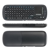 iPazzPort Bluetooth Wireless Mini Handheld QWERTY Keyboard with Touchpad for TV Box PAD Tablet Smartphone PC KP-810-19BTS