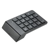 Bluetooth 3.0 Numeric Keypad Wireless Number Pad 18 Keys Mini Digital Keyboard for iMac/MacBook/MacBook Air/Pro/iPad Laptop Tablet Smartphone