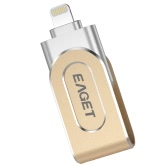 EAGET i80 32G USB 3.0 Lightning Connector Flash Drive with Touch ID Thumb Pen Drive Memory Stick Capacity Expansion MFi Certified for iOS iPhone/iPad/iPod/Mac/PC Laptop
