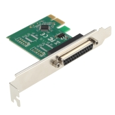 PCI Express PCI-E to DB25 Parallel Port WCH Expansion Card Converter Adapter LPT Interface