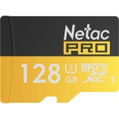 Netac P500 Class 10 128G Micro SDXC TF Flash Memory Card Data Storage UHS-I U3 High Speed Up to 90MB/s