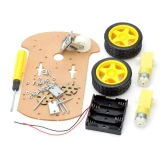 Smart Robot Car Chassis Kit for Arduino (Works with Official Arduino Boards)