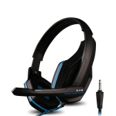 Ovann X1-S Professional Esport Gaming Stereo Bass Headset Headphone Earphone Over Ear 3.5mm Wired with Microphone for PC Computer Laptop