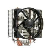 PCCOOLER 4 Heatpipes Radiator Quiet 4pin CPU Cooler Heatsink Fan Cooling with 120mm Fan for Desktop Computer