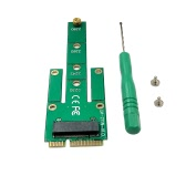 MSATA SSD converted to B key M.2 NGFFcard mSATA Mini PCI-E Male Adapter Converter Card