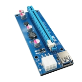 PCI-E 6 Pin Riser Card 1X to 16X USB 3.0 Cable 6pin USB Riser for Bitcoin Mining