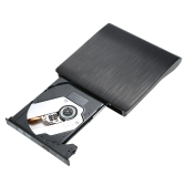 Ultra Slim External Drive USB 3.0 Burner Writer BD-ROM 3D Blu-Ray Player for Linux Windows Mac OS
