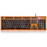 Motospeed K10 Ergonomic Multimedia Illuminated Professional Esport Gaming Keyboard Rainbow Breathing LED Backlit 104 Keys USB Wired