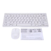 2.4G Wireless Keyboard + Mouse