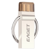EAGET V90 16GB Tablet PC USB Flash Drive USB 3.0 OTG Smartphone Pen Drive Micro USB Portable Storage Memory Metal Encryption