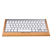Bamboo Keyboard Stand Practical Base Holder for Apple iMac PC Computer Bluetooth Keyboard Protective Case Cover Multi-functional