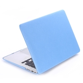 Hard Case Silk Pattern Leather Cover Snap-on Shell Protective Skin Ultra Slim Light Weight for Apple Macbook Air 11 inch 11.6""