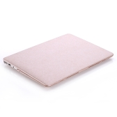 Hard Case Silk Pattern Leather Cover Snap-on Shell Protective Skin Ultra Slim Light Weight for Apple Macbook Air 13-inch 13.3""