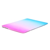 Ultra Thin Light Weight Rainbow Contract Color Laptop Hard Case Shell Cover for Apple Macbook Retina 15 15.4in