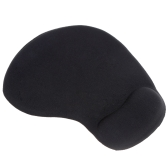 Thick Simple Solid Irregular Shape Mouse Mice Pad Mat with Soft Comfy Wrist Rest for Computer PC Laptop