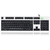 MOTOSPEED 104 Professional Gaming Esport Keyboard Mechanical Type Tactile Keycaps USB Wired for PC Laptop Desktop