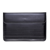 "Lention Genuine Leather Flap Sleeve Bag Case Pouch for MacBook Air 11.6""  for MacBook 12"" Ultrabook Laptop Notebook"
