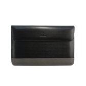 """Lention Genuine Leather Flap Sleeve Bag Case Pouch for MacBook Pro/Pro with Retina 15.4"""" Ultrabook Laptop Notebook"""