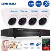 OWSOO 4ch Channel CCTV Surveillance DVR Security System