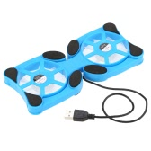 "Mini Portable Folding Foldable USB Dual Fan Cooler Cooling Pad for PC Laptop Notebook 7""~15"""