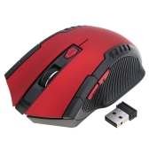 2.4G Wireless Gaming Mouse Portable 2400DPI Adjustable Optical for PC