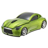 2.4GHz Wireless Racing Car Shaped Optical USB Mouse/Mice 3D 3 Buttons 1000 DPI/CPI for PC Laptop Desktop