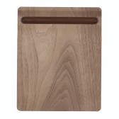 SAMDI Soft Wooden Mouse Pad Mat Multi-functional with Pen Holder 11.02 * 9.05 * 0.19 in