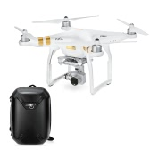 DJI Phantom 3 SE Wifi FPV 4K Caméra Drone Vision Positionnement Quadcopter avec Shockproof Hardshell Backpack