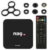 Docooler R39 Smart Android 6.0 TV Box RK3229 Quad Core UHD 4K 1G / 8G Mini PC WiFi H.265 US Plug + DIY Tri Fidget Spinner