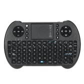 2.4G Mini USB Wireless English Russian Spanish Hebrew Version Keyboard Touchpad & Air Fly Mouse Remote Control for Android Windows TV Box Smart Phone