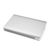 "Aluminum High Speed 5Gbps USB3.1 GEN1 Type C External Hard Disk Drive Enclosure Case Tool-Free USB-C Hard-disk Box with Type-c Cable for 2TB 2.5"" SATA HDD or SSD"