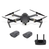 DJI Mavic Pro Foldable 4K Camera FPV RC Quadcopter with Two Extra Batteries