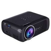 Uhappy Mini Portable Multimedia HD LED LCD Projector 1080P 3D Home Cinema Theater PC Laptop VGA USB AV HD SD