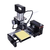 Portable High Precision Compact Metal Desktop 3D Printer Machine DIY Kit with LCD Screen Printing Accessories Support Off-line Printing PLA Material for Entry Level User Kids Industry Medical Designer