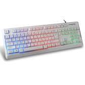 B-STROM K72 USB Wired Gaming Keyboard 19 Keys Anti-Ghosting with Backlit for PC