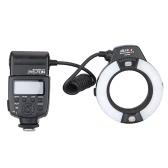 Viltrox JY-670N On-camera i-TTL Macro Close-up Fill-in LED Ring Flash Speedlite Light for D750 D810 D7200 D610 D7000 D5500 D5200 D5300 D3300 D3200 DSLR Camera with Adapter Ring(49mm/52mm/55mm/58mm/62mm/67mm)