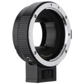 Andoer Auto Focus AF EF-NEXII Adapter Ring for Canon EF EF-S Lens to use for Sony NEX E Mount 3/3N/5N/5R/7/A7/A7R/A7S/A5000/A5100/A6000 Full Frame
